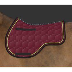Mattes Velvet  Eurofit saddle pad - design your own