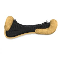 Made to mesure  Sheepskin Mattes saddle pad with chose your own corrective pads