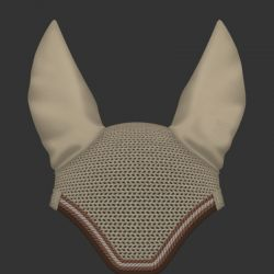 Mattes Customizable Fly veil - Egyptian cotton