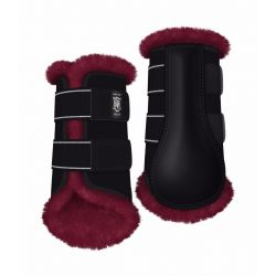Mattes Sheepskin Front brushing boots - Customize your own