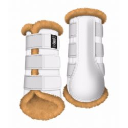 Mattes Sheepskin Hind brushing boots - Customize your own