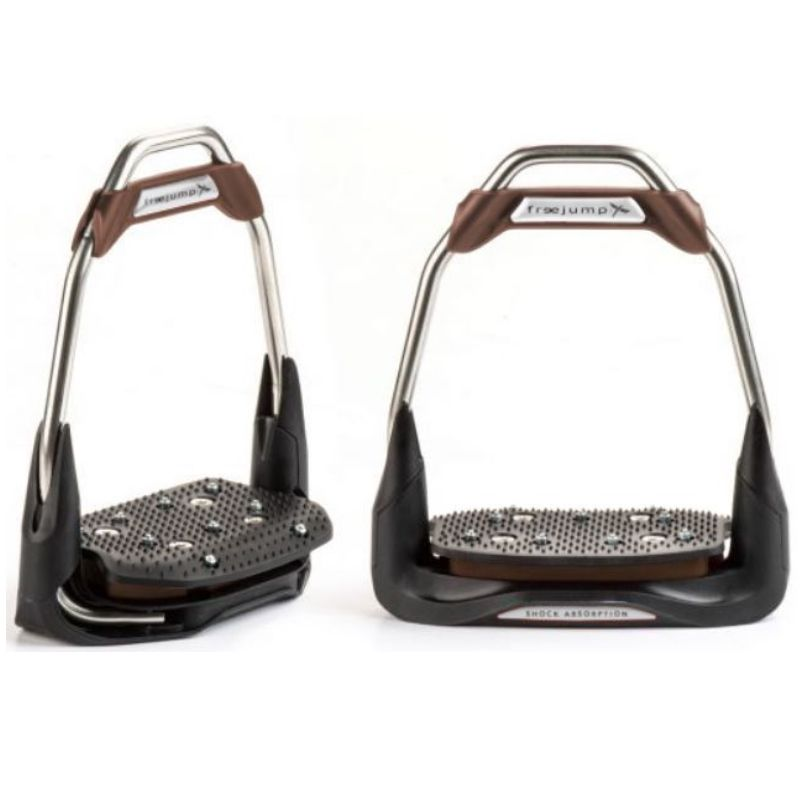 Freejump Air'S Stirrups straight eye, flat tread - design your own - Mon cheval