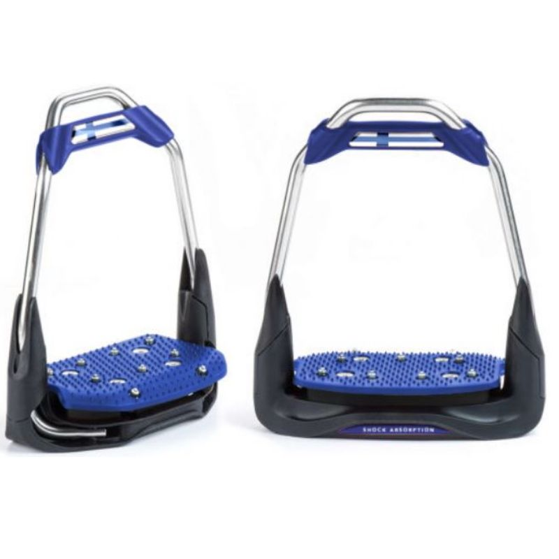 Freejump Air'S Stirrups straight eye, inclined tread - design your own - Mon cheval