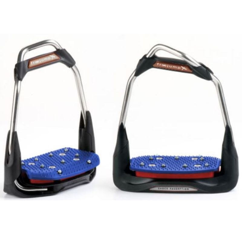 Freejump Air'S Stirrups offset eye, inclined tread - design your own - Mon cheval