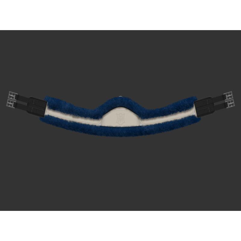 Sheepskin Girth - Long - Half moon slim-line - Custom Made
